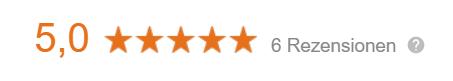Patientenbewertungen auf Google