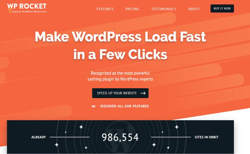 wp rocket für langsame wordpress seiten