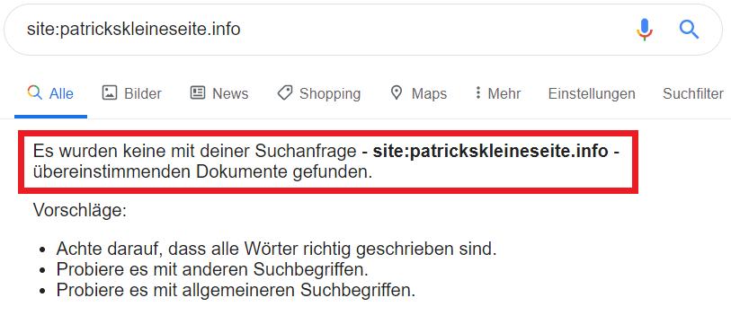 patrickskleineseite.info