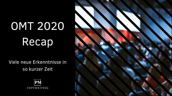 OMT 2020 Recap
